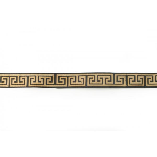 Taśma ozdobna ze wzorem greckim.