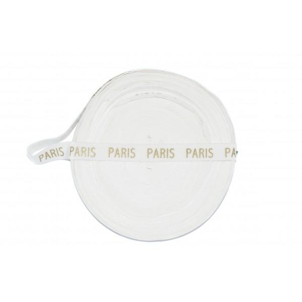 Taśma drukowana welurowa PARIS (TD0018)